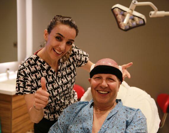 Haarimplantatie in Turkije