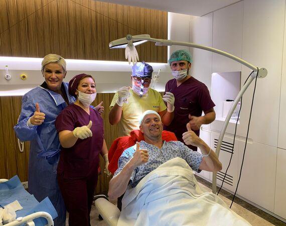 Herstel haartransplantaties