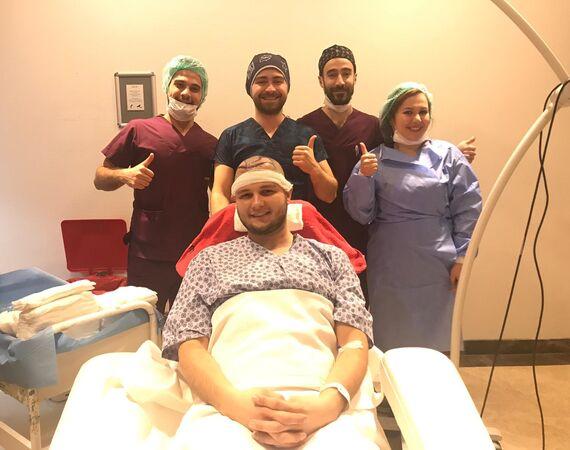 Herstelende haartransplantaties