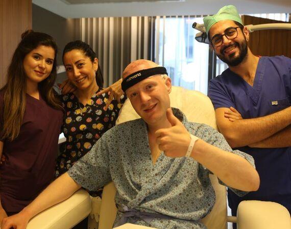 Garantie op de haartransplantatie