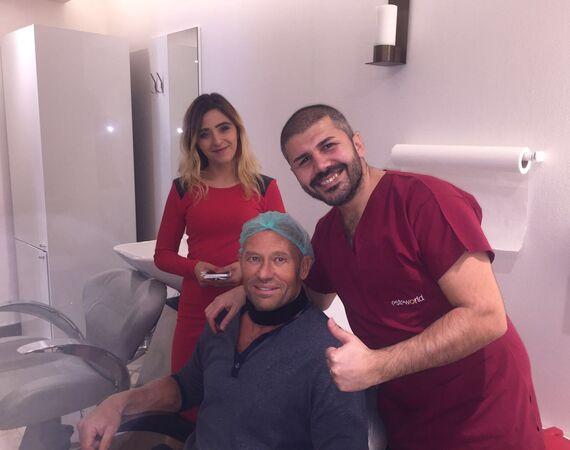 PRP behandeling tijdens haartransplantatie