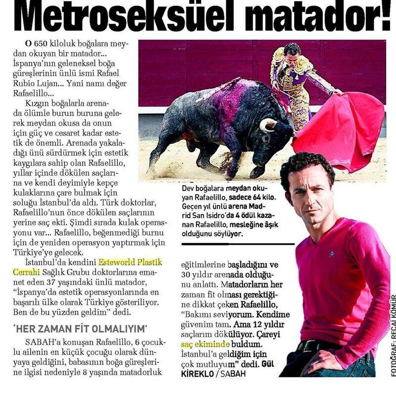 VIP Rafael Rubio Lujan (Spaanse matador)
