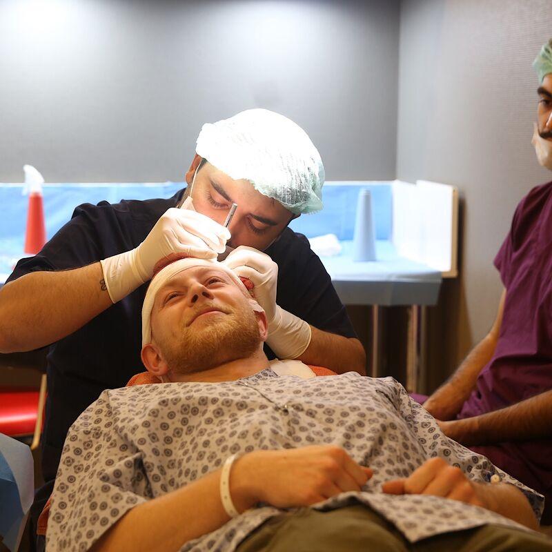 Gill haartransplantatie top verlopen