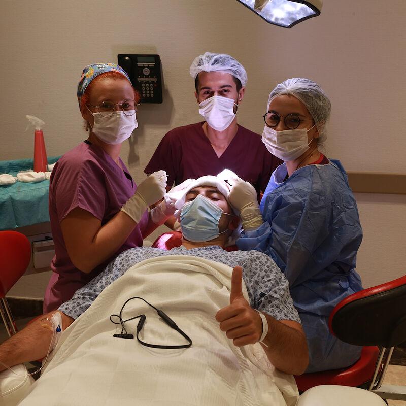 100% vertrouwen in haartransplantatie resultaat